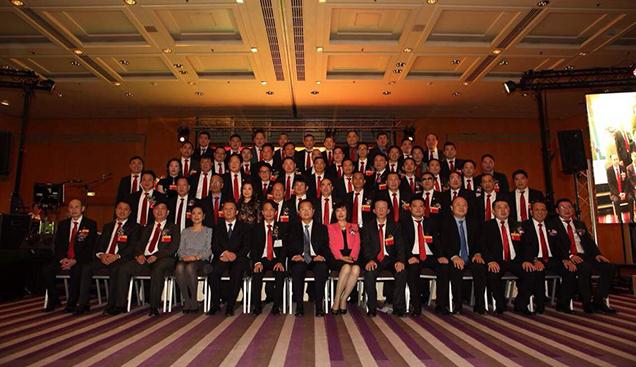 法国华侨华人会第二十一届主席暨主席团就职典礼在巴黎举行